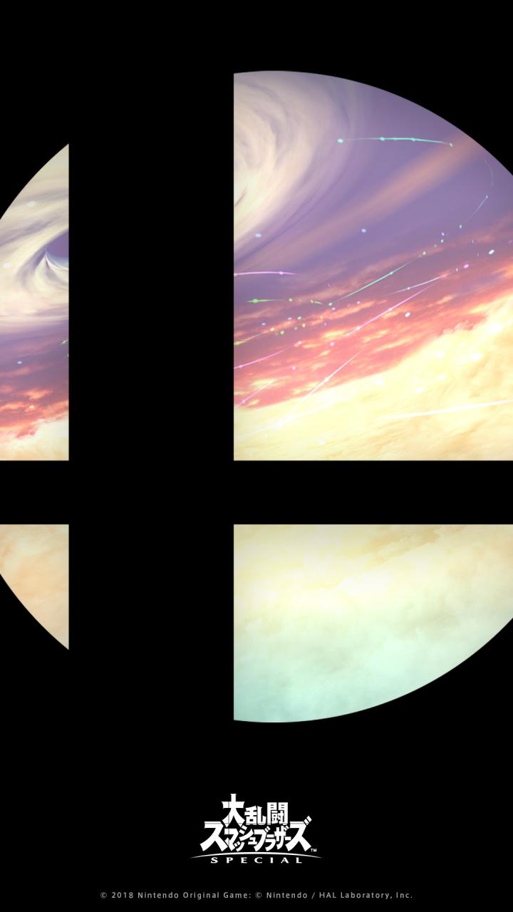Nintendo Line Account S Smash Bros Ultimate Mobile Wallpaper